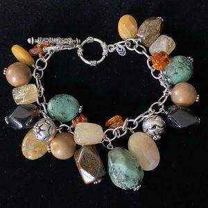 Silpada multi stone bracelet
